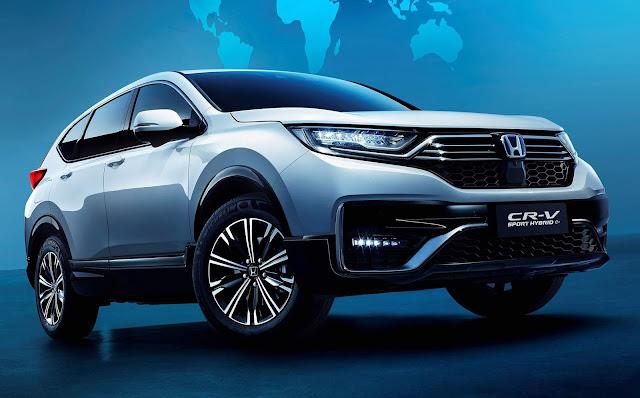 Honda CR-V Híbrido Plug-in começa a ser vendido em 2021