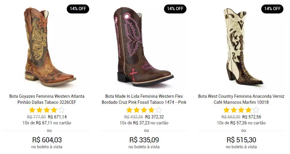 00f270218f158 Você encontra uma enorme variedade no site https   www.brasilcowboy.com.br   com muitas marcas para todos os gostos!