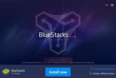 تحميل محاكي أندرويد BlueStacks  لتشغيل تطبيقات وألعاب الأندرويد على الكمبيوتر