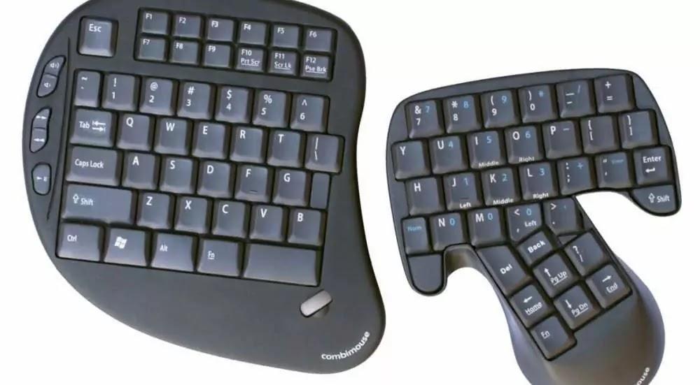 Layout Keyboard Klockenberg