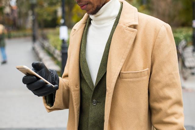 Southern Proper Gentleman's Jacket  in Green Herringbone Menswear Preppy