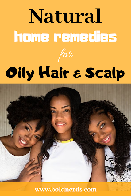 natural remedies to get rid of oily hair