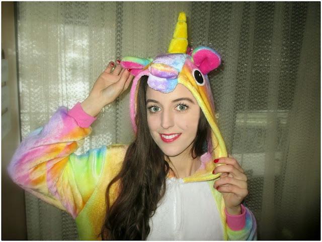 gamiss, online shop, online iskustvo, unicorn, jednorog, pidžama, colorful, multicolor, rainbow, mekano, online šop, recenzija, review