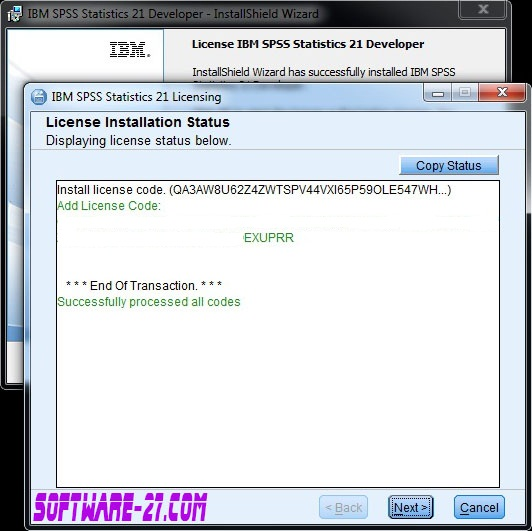 Technology Management Image: IBM SPSS Statistics 21 Multilingual (Reupload)