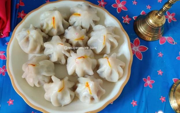 उकडीचे मोदक बनवण्याची सोपी पद्धत । Ukadiche Modak recipe in Marathi