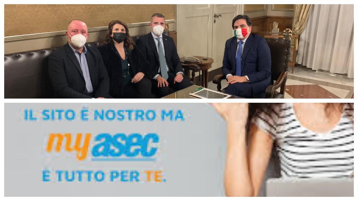 Presentata my Asec Catania