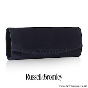 Kate Middleton carried Russell and Bromley Clutch bag