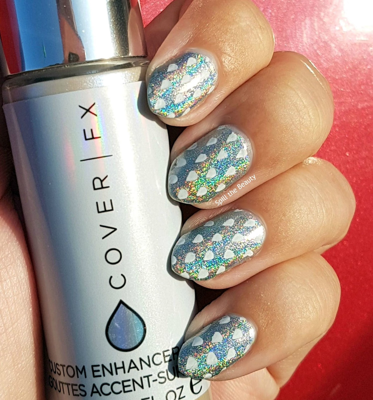 Nail Art Inspired By…..Cover FX Highlighter