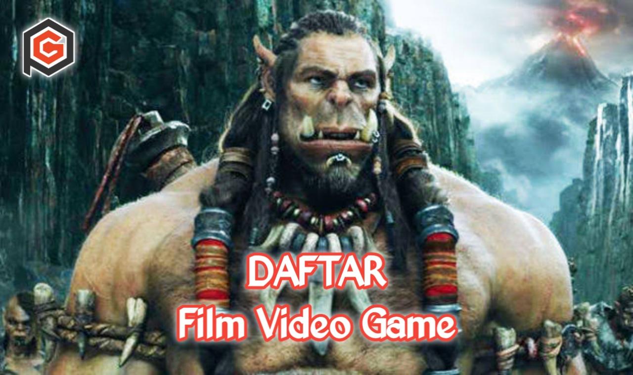 Daftar film yang diangkat dari video game