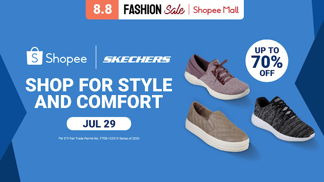Shop for style and comfort with Sketchers on Shopee