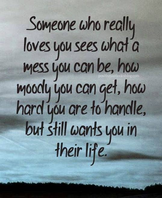 Quotes & Inspiration: Someone Who Really Loves You Sees