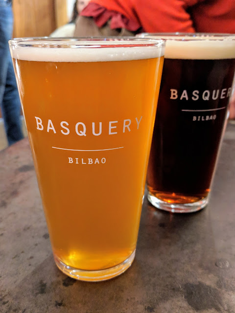 Places to eat in Bilbao: Craft beer at the Basquery