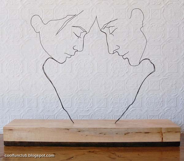 Masti Online: «*» RUKHSANA«*» Wire Sculpture