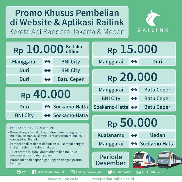harga promo KA Bandara railink