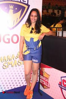 Actress Suja Varunee Stills at CBL 2016 (Celebrity Badminton League) Event  0011
