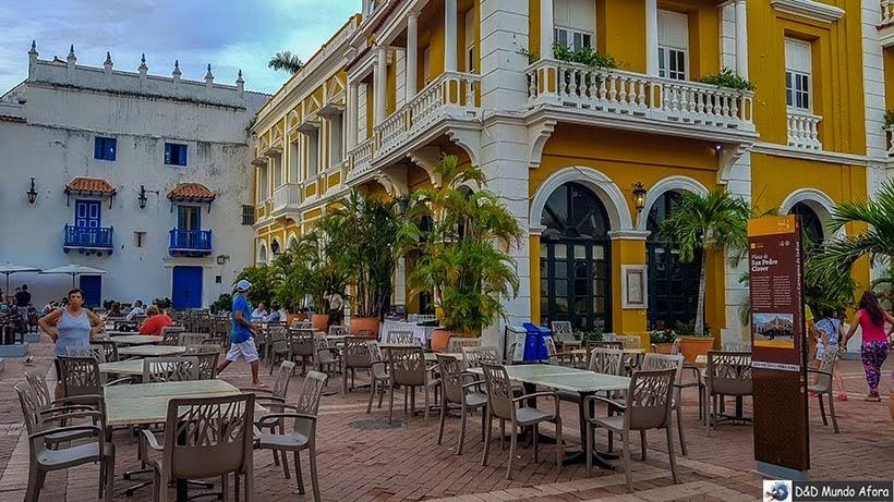 Praça São Pedro Claver - O que fazer em Cartagena, Colômbia