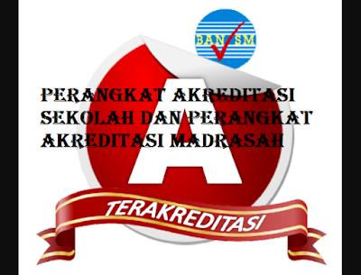Download File-File Perangkat Akreditasi Sekolah/Madrasah Semua Jenjang SD/MI SMP/MTs SMA/MA SMK 2017
