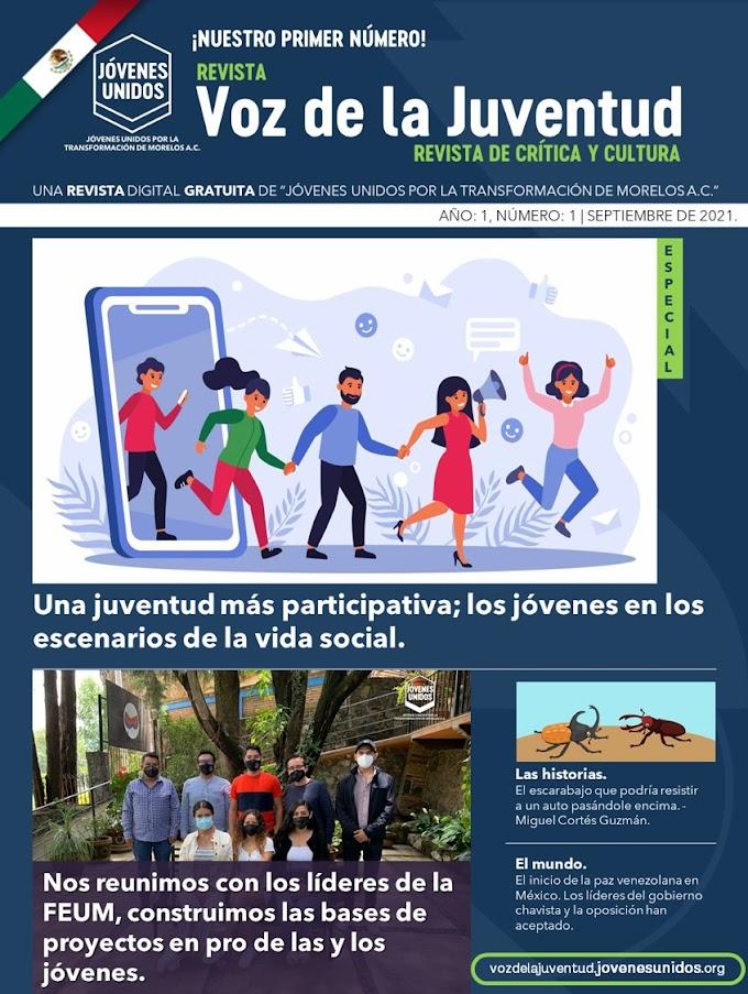 Revista Voz de la Juventud | Número 01: septiembre, 2021