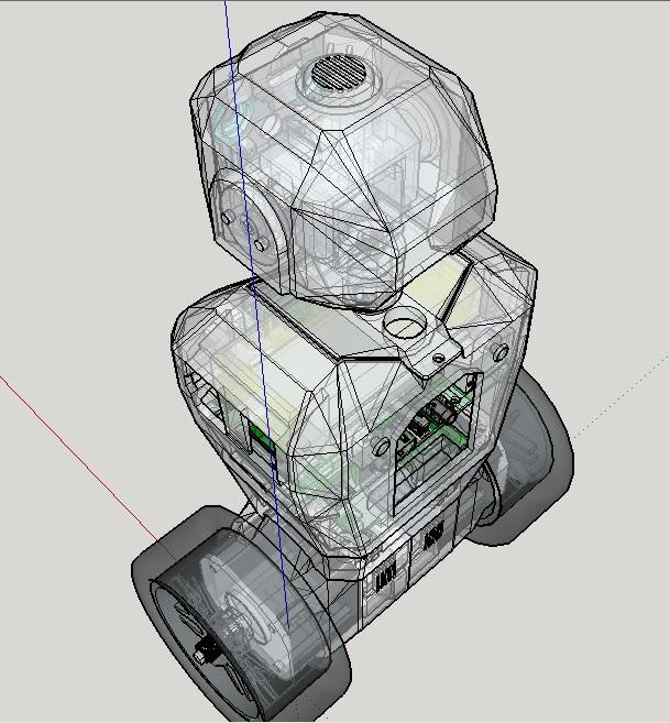 Electronics and Robotics : RS5 - 3D printed Raspberry Pi 3 robot