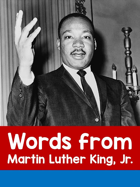 Children can learn about and listen to five speeches by Dr. Martin Luther King, Jr. I Have a Dream, I've Been to the Mountaintop, What Is Your Life's Blueprint, The Other America, Nobel Prize acceptance speech, and Remaining Awake