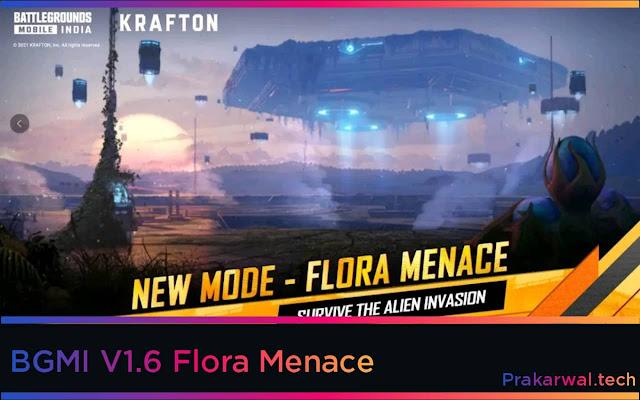 BGMI V1.6 Flora Menace Roll Out