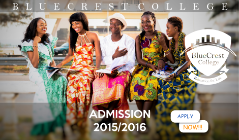 Admissions 2015 2016 Bluecres University College Ghana