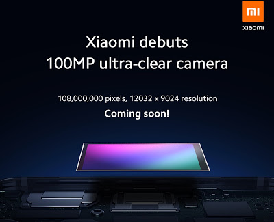 شركة شياومي تعمل بشراكة مع شركة سامسونج على تطوير دقة كاميرا الهواتف الذكية المستقبلية إلى 100 ميغابيكسل