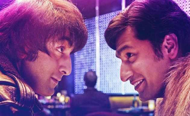 Ranbir Kapoor and Vicky Kaushal in Sanju