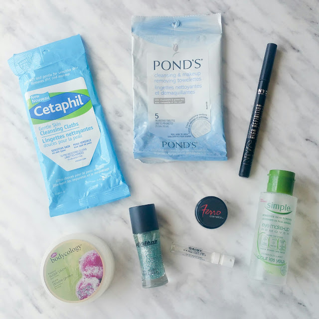 April empties, beauty products
