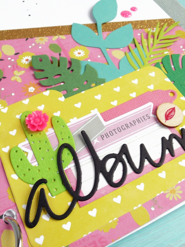 Scrapbooking- Dream inspiration – Summer Mini album