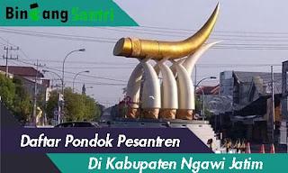 ponpes di kabupaten ngawi
