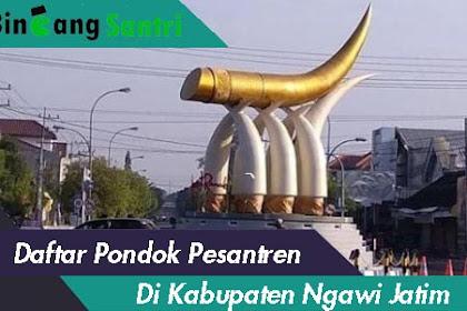 Daftar Pondok Pesantren Di Kabupaten Ngawi