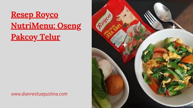 Oseng Pakcoy Telur