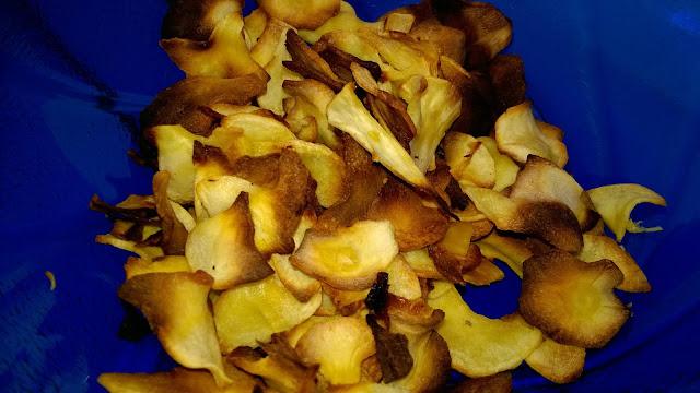 Chips de Panais au four