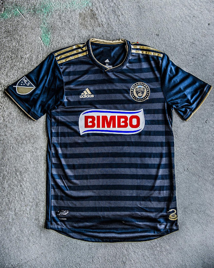 cheaper a3d5b 1910f Philadelphia Union 2018 Home Kit + New Logo Revealed - Footy ...