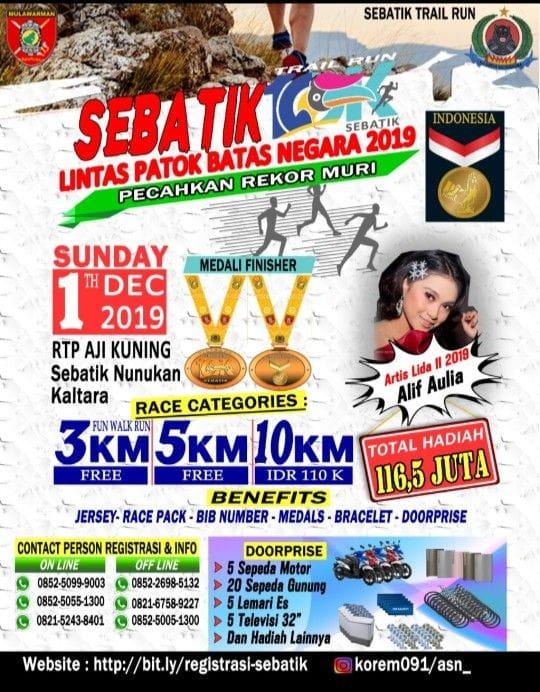 Sebatik Trail Run • 2019