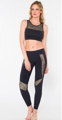 Model baju senam aerobik untuk wanita