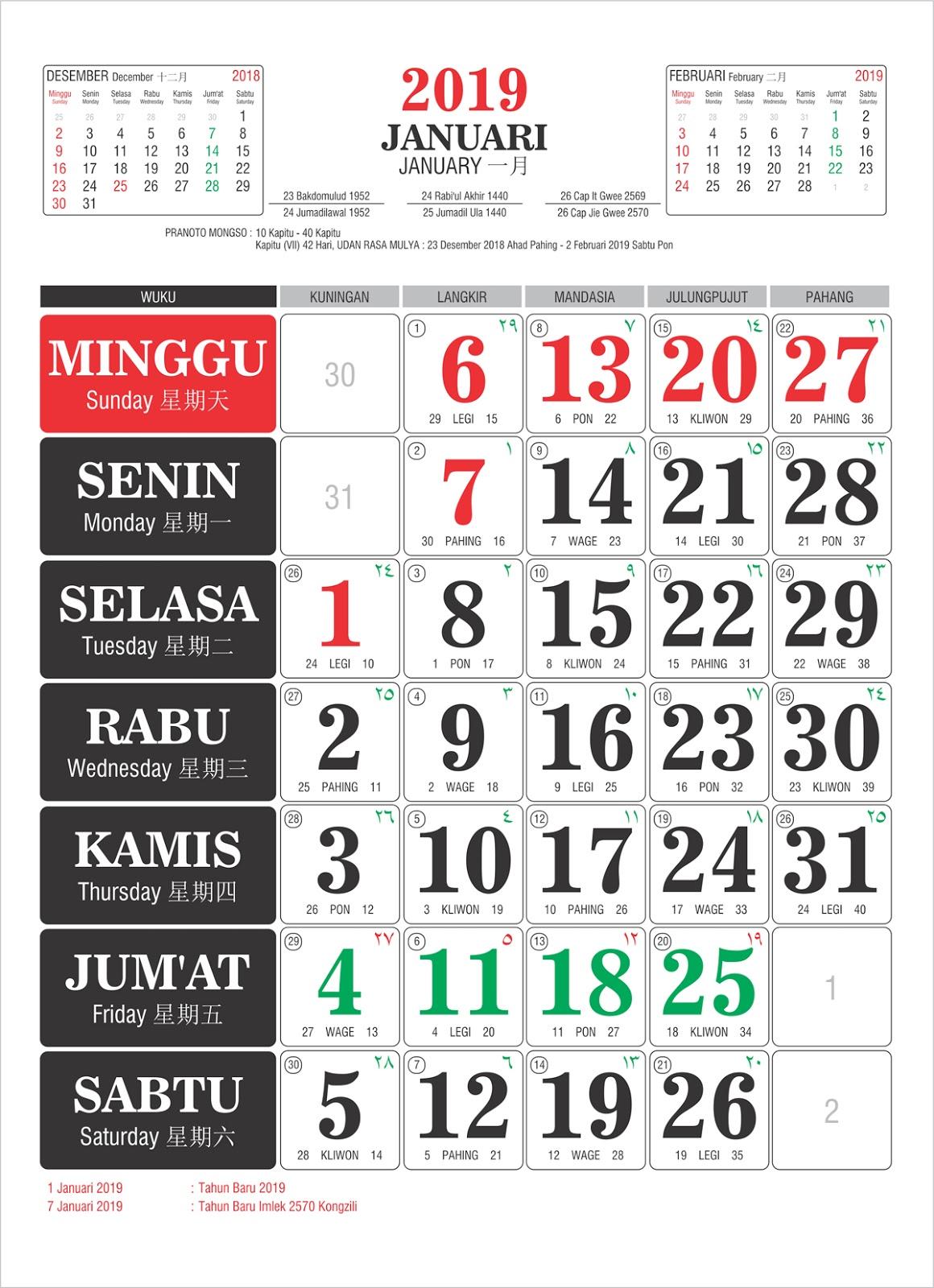 2018 Tempatnya Download Template Kalender 2015 Tanggalan 2015