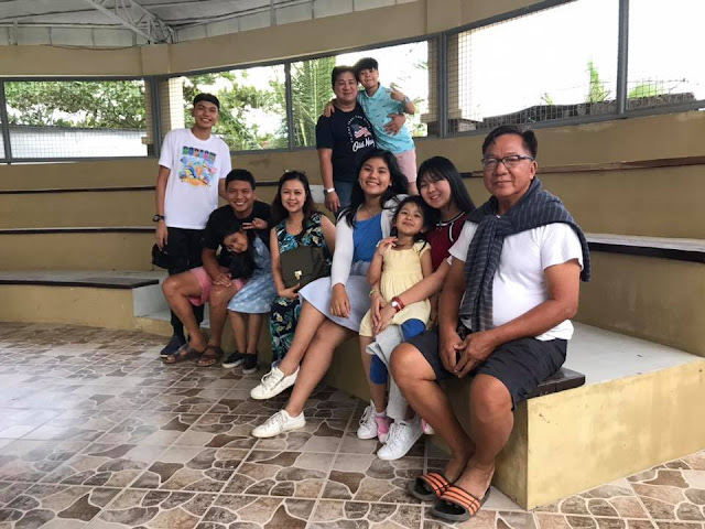 Our family with Mang Manolo of Pawikan Conservation Center
