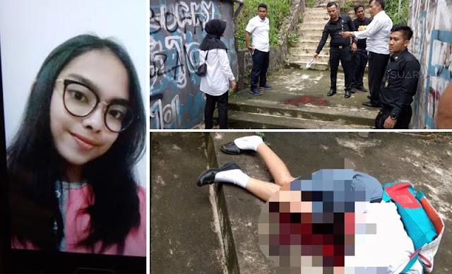 Beredar Rekaman CCTV Penusukan Siswi SMK di Bogor, Lihat