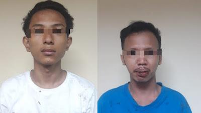 Usai Jambret Karyawan Kompeksi, Dua Penjahat ini Dibekuk Buser Tambora