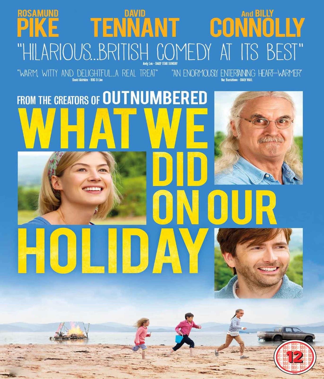O que Nós Fizemos no Nosso Feriado Torrent - Blu-ray Rip 720p e 1080p Dublado (2015)