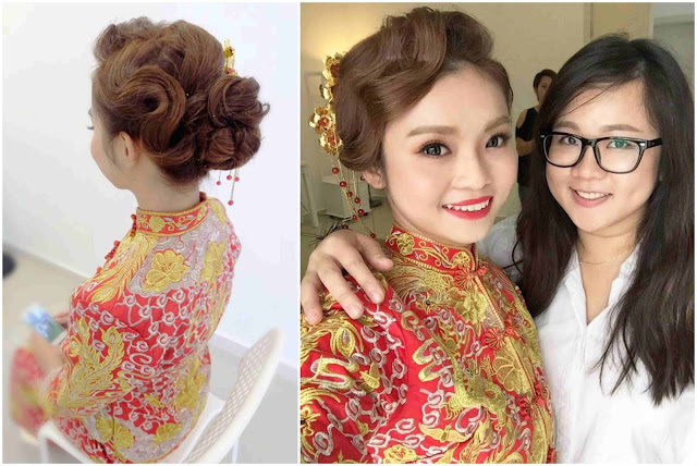 glam chinese wedding