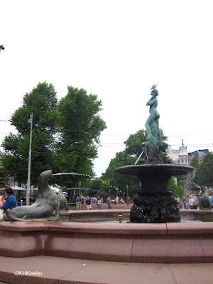 Helsinki fountain