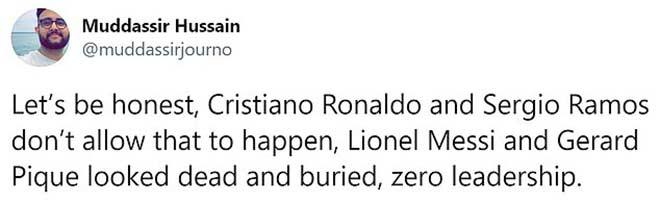 Messi thua đậm Cúp C1 chưa đủ, bị chê tài thủ lĩnh thua xa Ronaldo 3