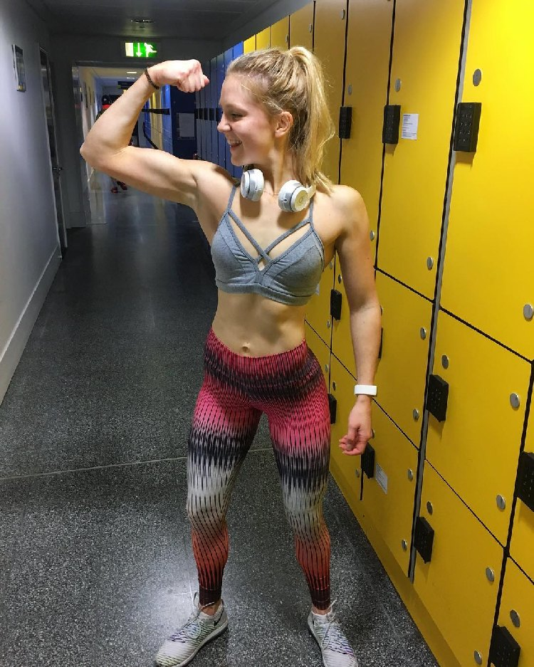 Lauren Tickner UKBFF Athlete