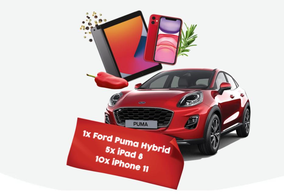 Concurs Kotányi - Castiga o masina Ford Puma Hybrid - 2021 - concursuri - online - castiga.net