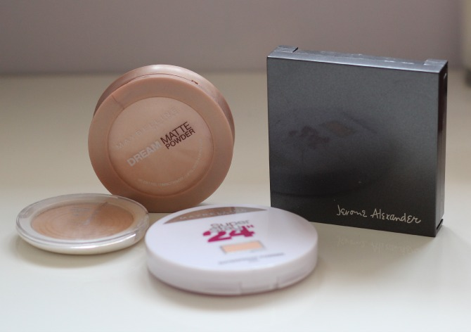 old face powders to throw away