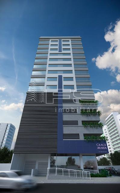 1369 - Grace Maria Residencial - Apartamento 3 suítes - 60 m do mar - Centro - Itapema/SC