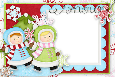 Tarjetas infantiles de navidad para imprimir